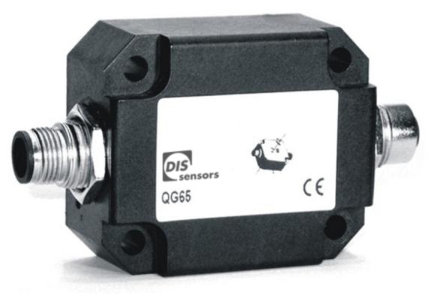 QG65 tilt switch, single or twin axis, CANopen ouput