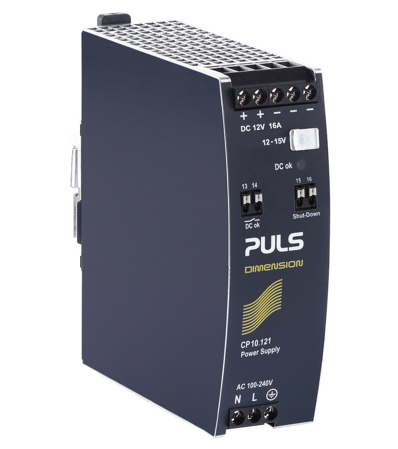 Power supply 1-phase, 12 V dc Dimension C Series, Generation 2