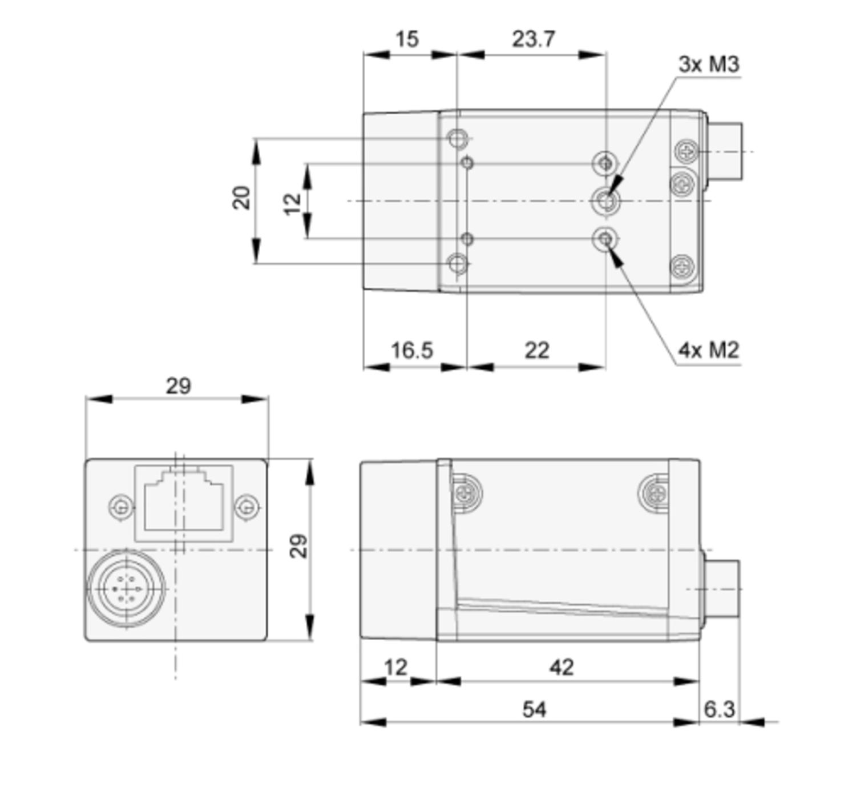 Compact Camera Link Cameras ACA1300-75GC