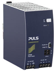 Power supply 1-phase, 48 V dc Dimension C Series