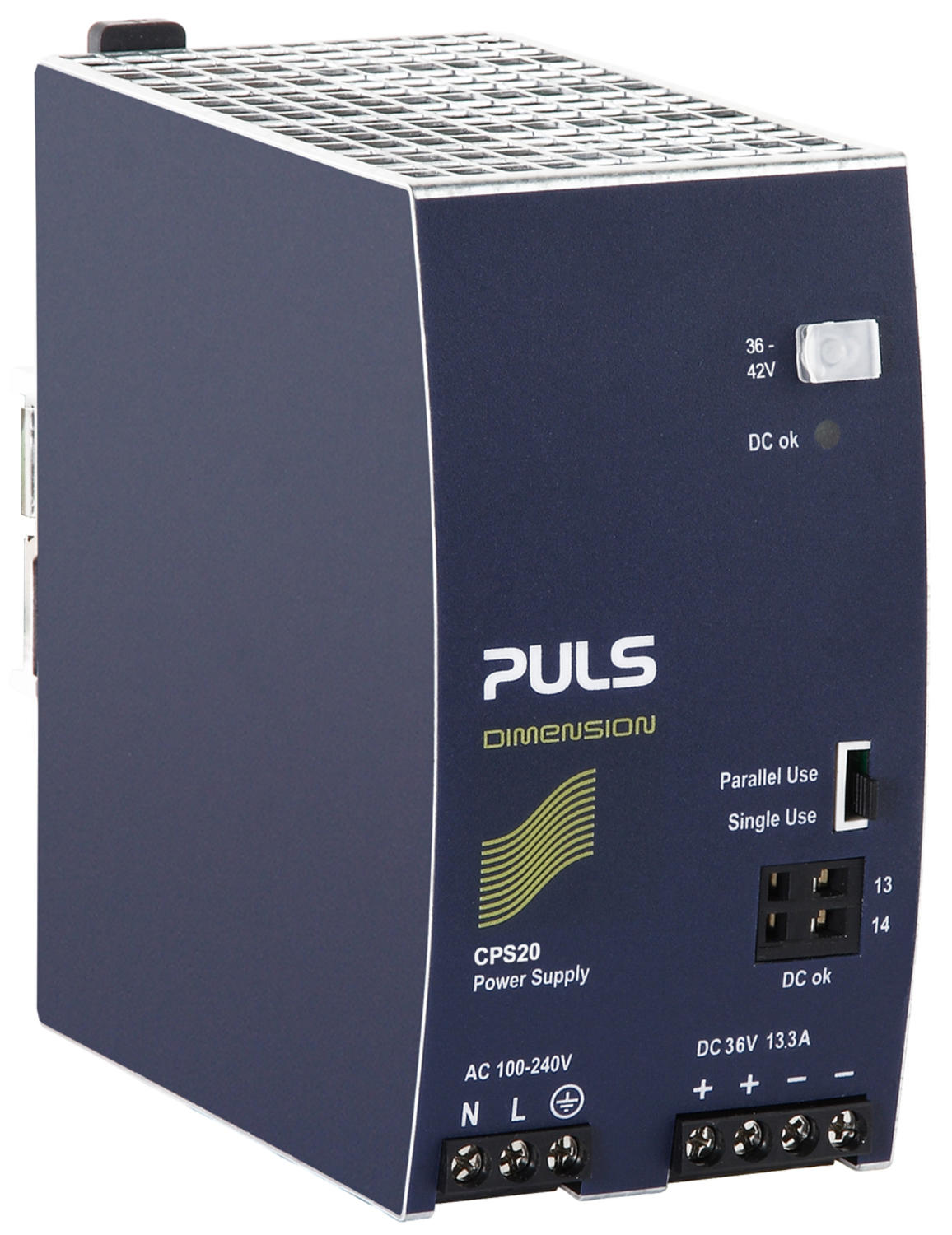 Power supply 1-phase, 36 V dc Dimension C Series