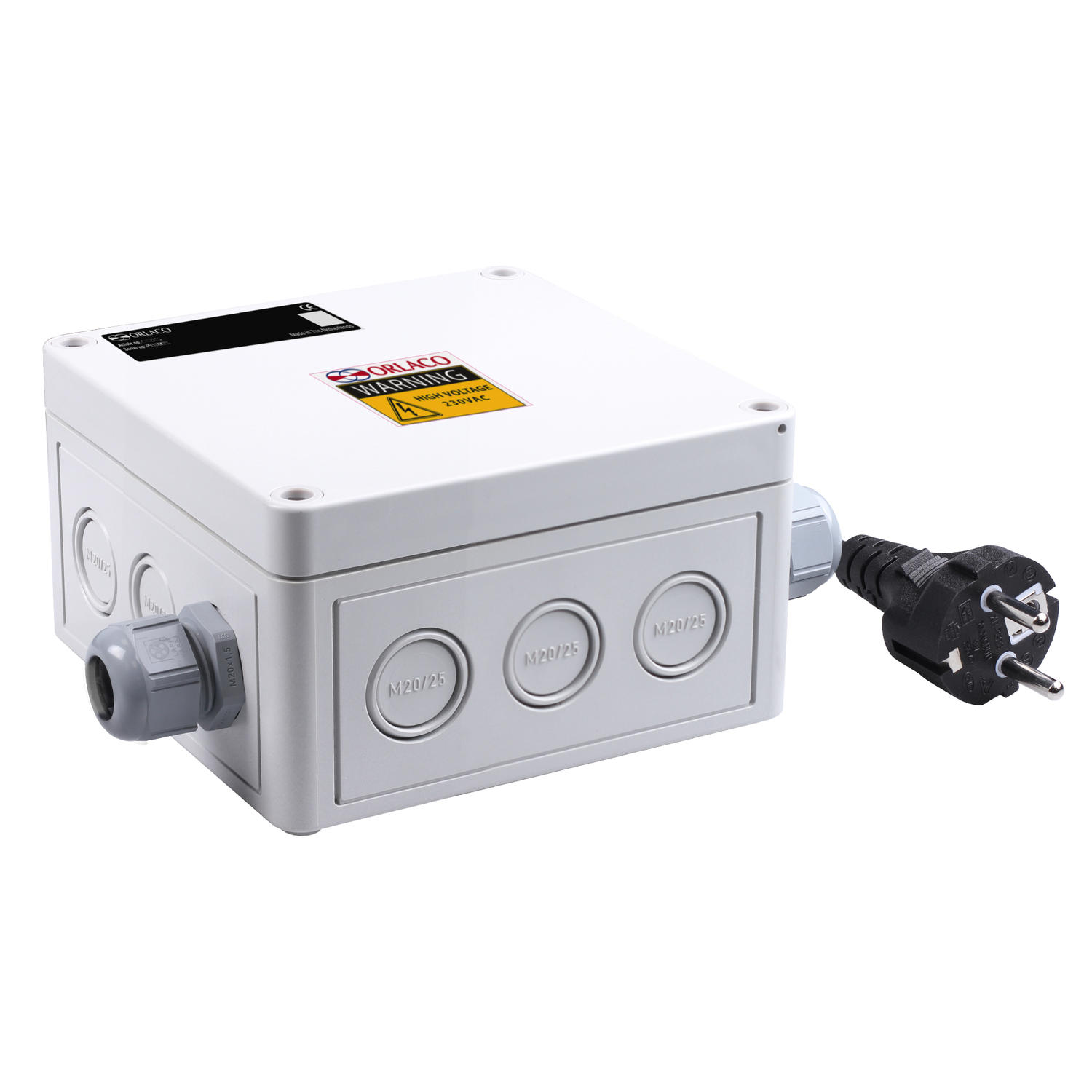 Junction box for IR cameras