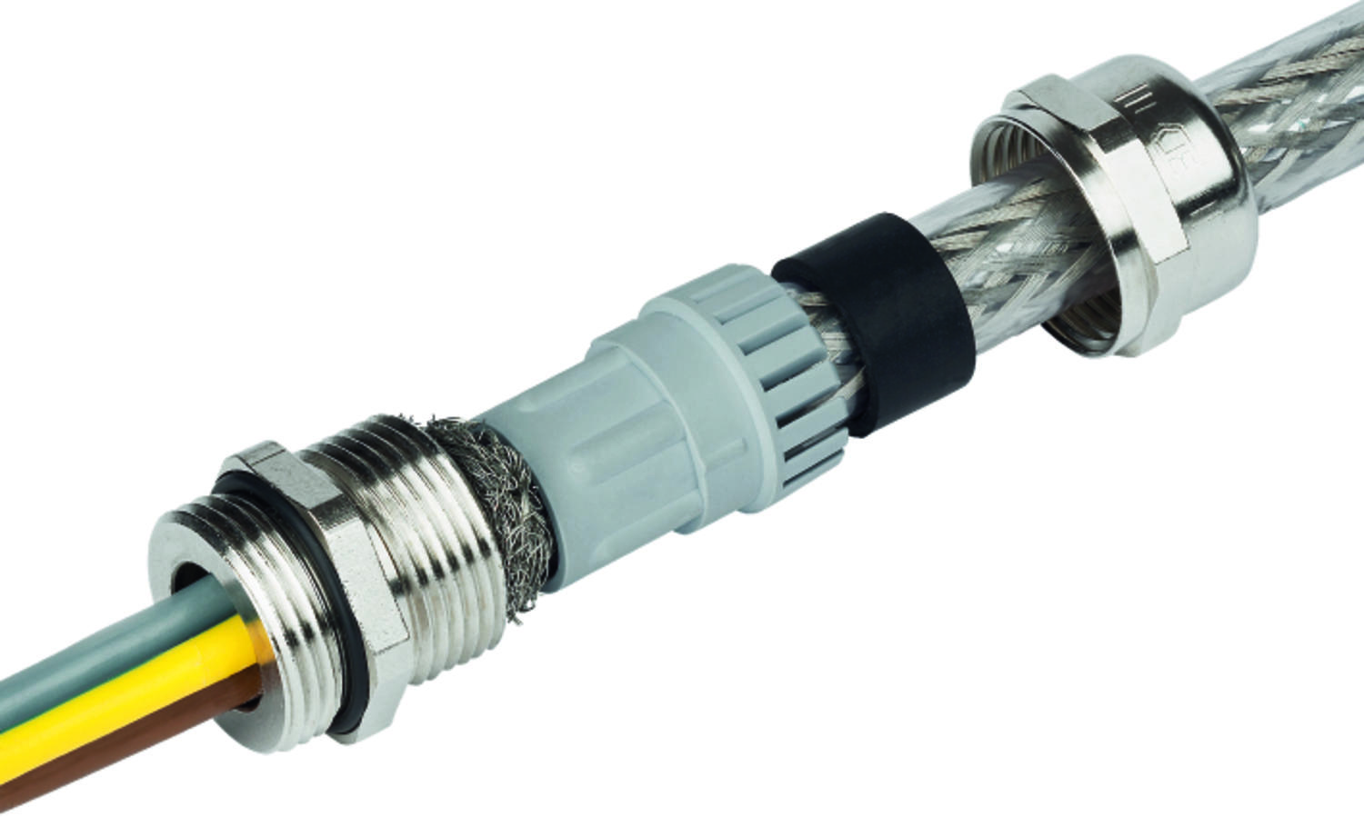 EMC cable glands, PG thread