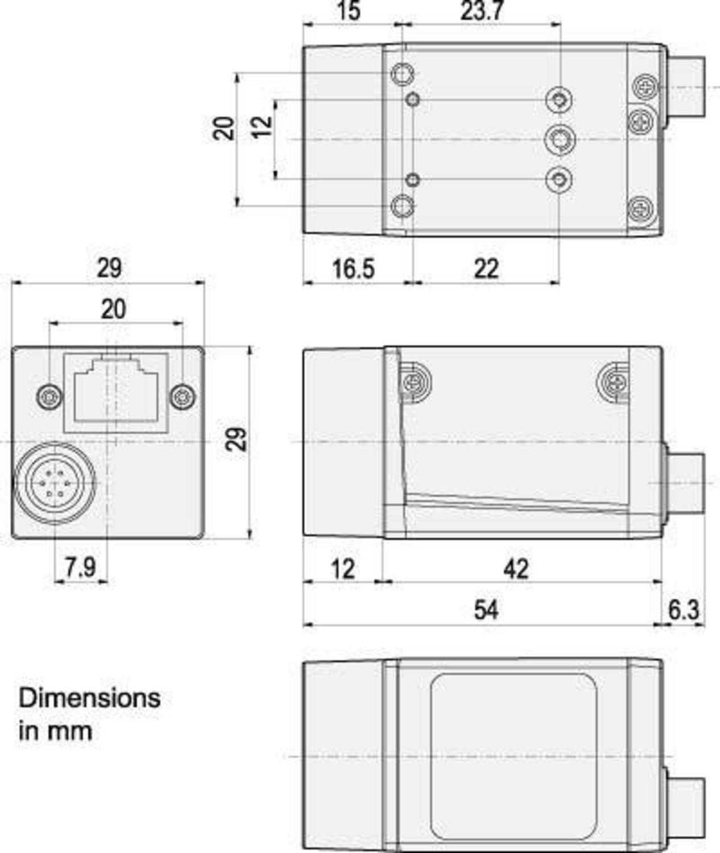 Compact Camera Link Cameras ACA1600-60GC