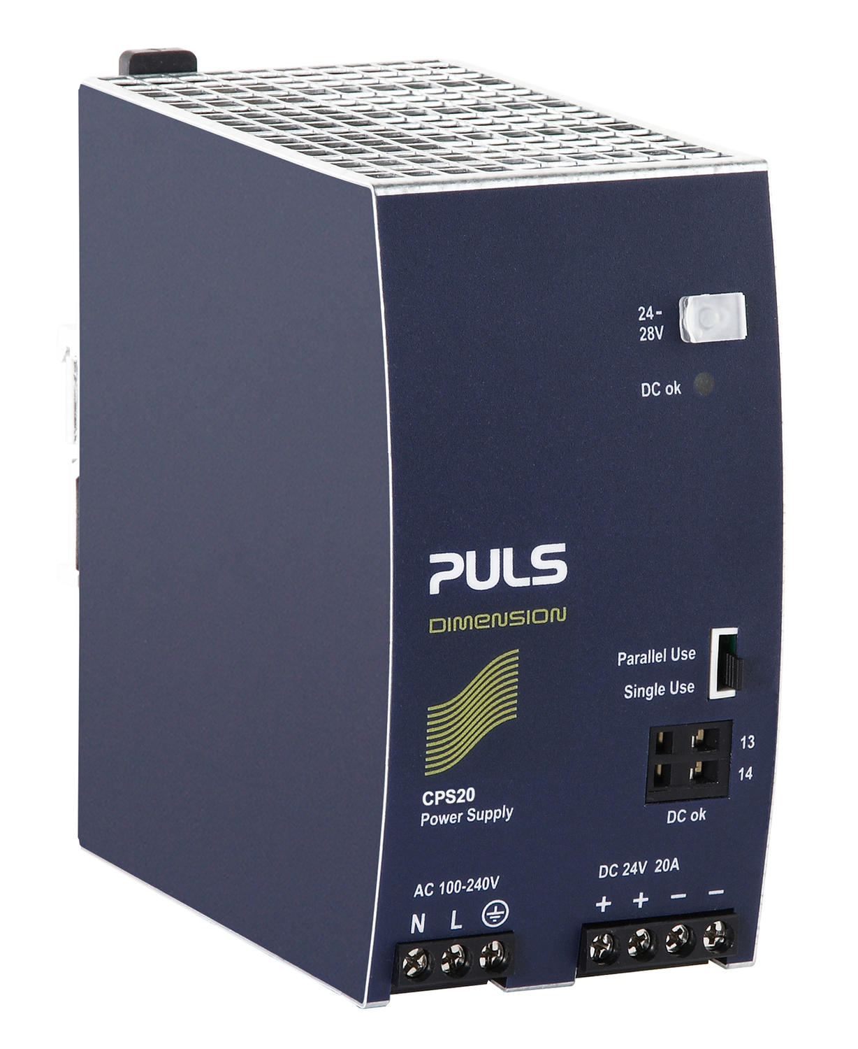 Power supply 1-phase, 12 V dc Dimension C Series