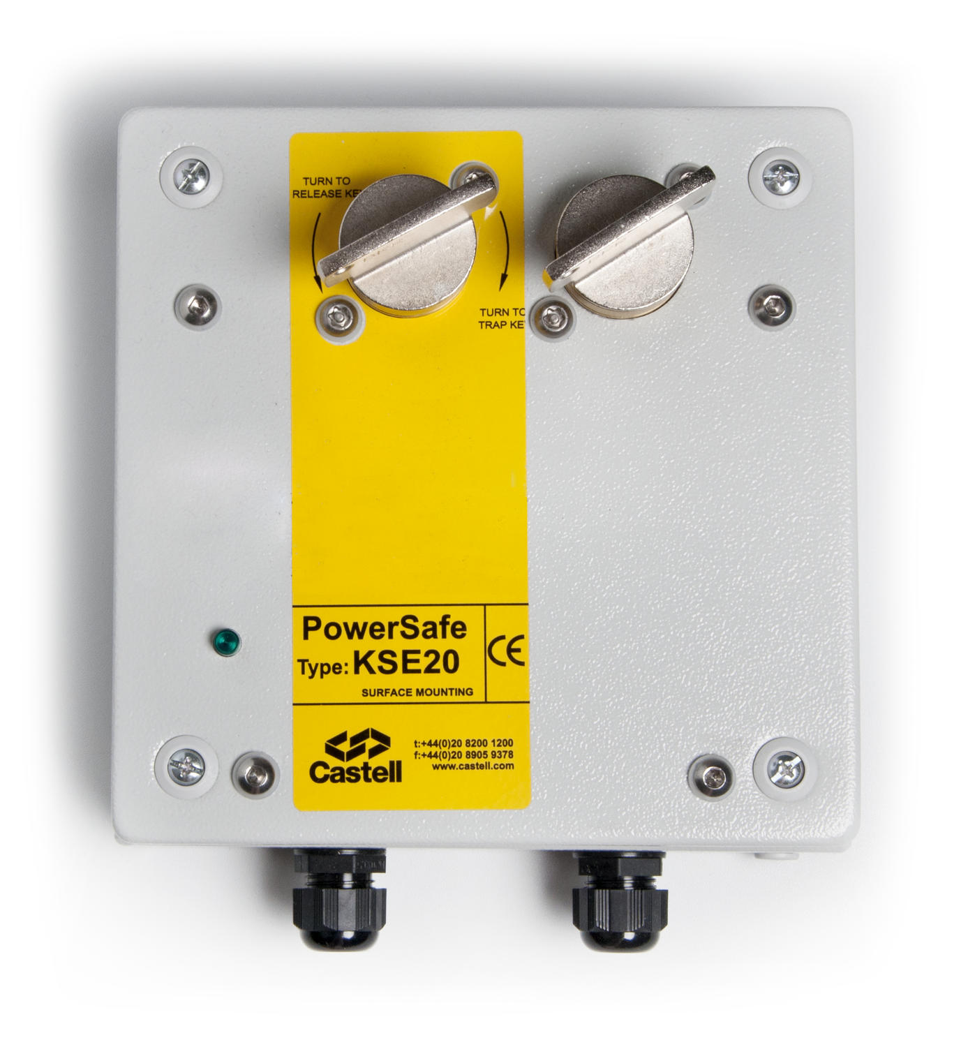 Multi-key powersafe electrical switch KSE20